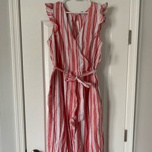 Old Navy striped jumpsuit
